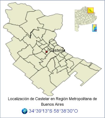 Intensa actividad OVNI en Castelar, Buenos Aires.
