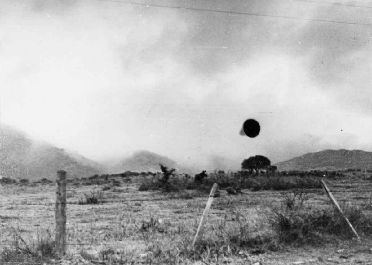 """Caso """"Las Grutas"""": Relato y fotos de un """"plato volador"""" en Río Negro (Tercera parte)."""