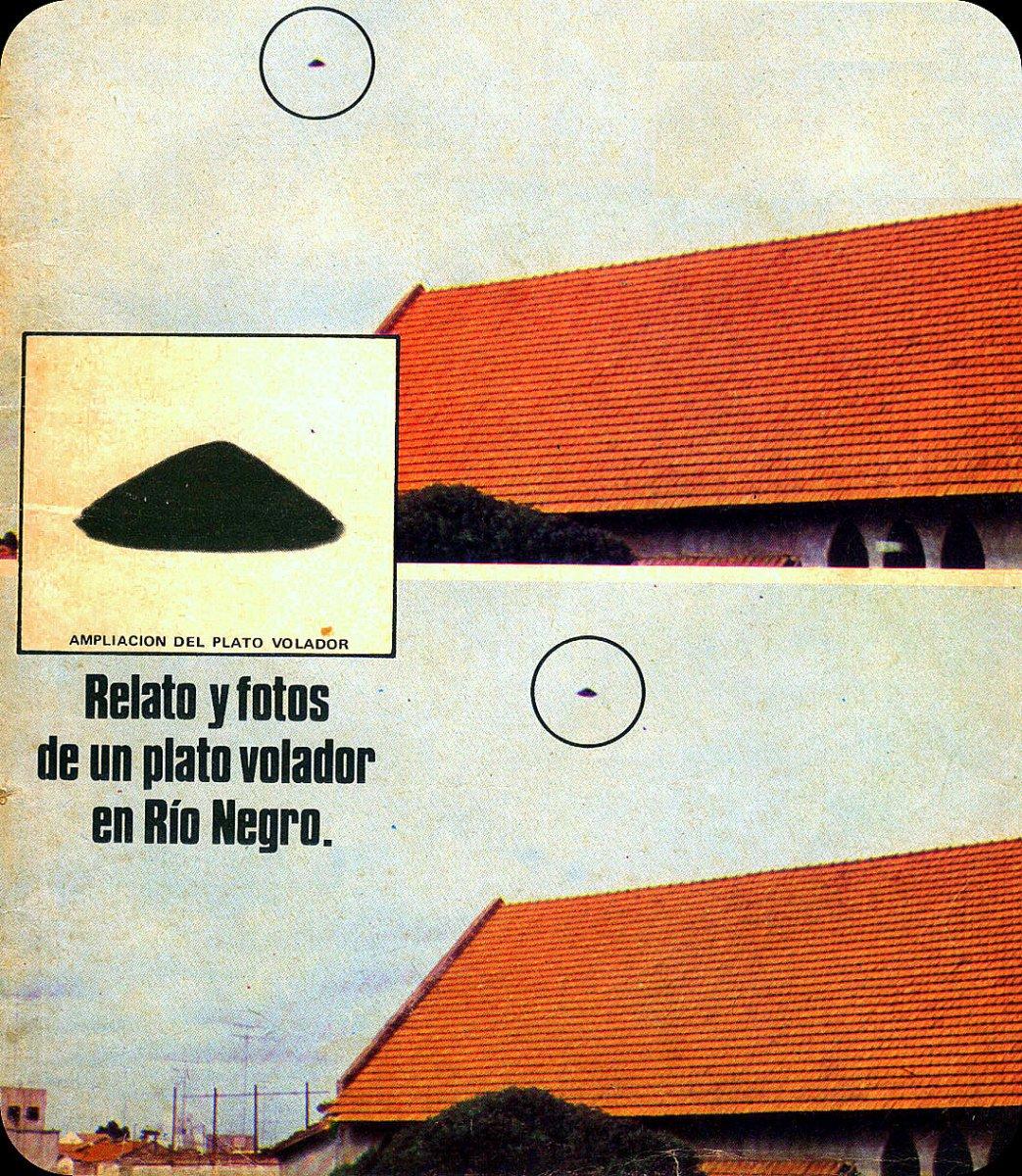 """Caso """"Las Grutas"""": Relato y fotos de un """"plato volador"""" en Río Negro (Segunda parte)."""